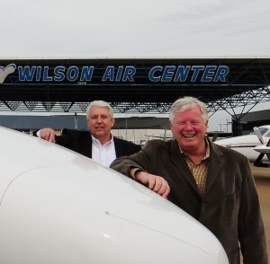Dave Ivey (L) Vice President - Bob Wilson (R) President